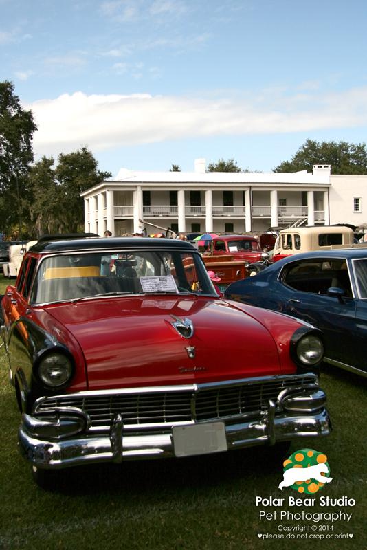 Car Show at Gamble Plantation, Photo by Polar Bear Studio